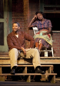 "Denzel Washington & Viola Davis in ""Fences"""